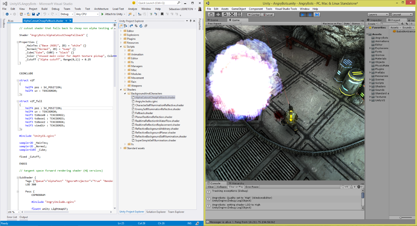 visual studio 2015 preview tools for unity is out now dave voyles