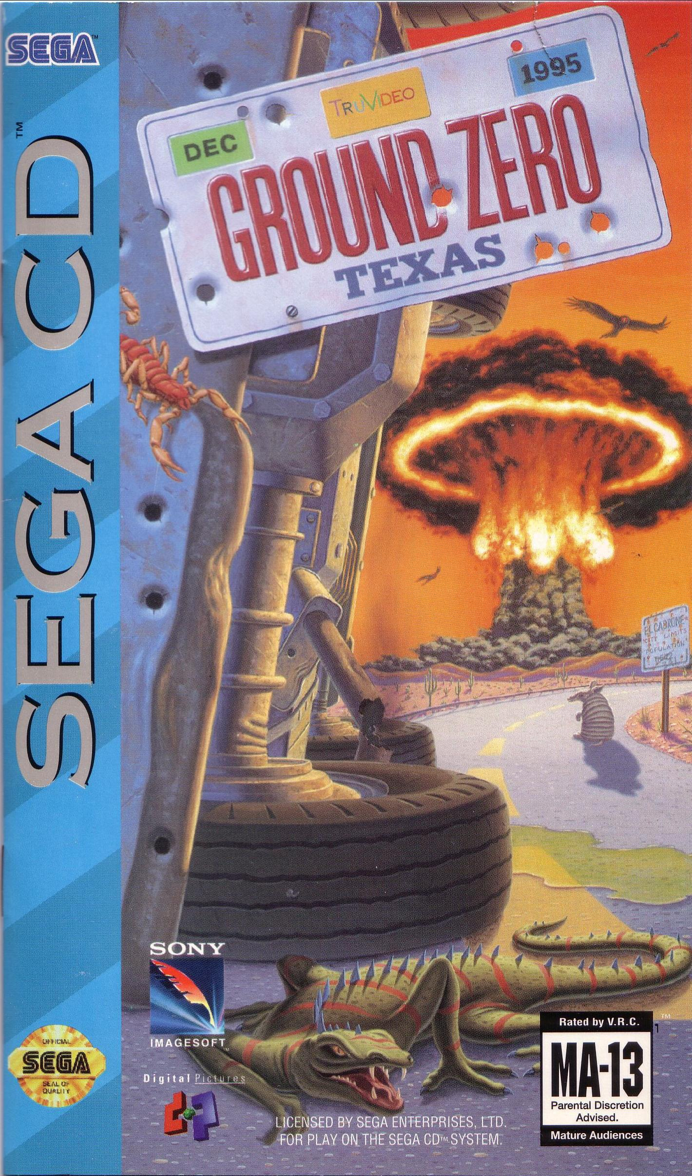 Ground Zero Texas (U) (Front)