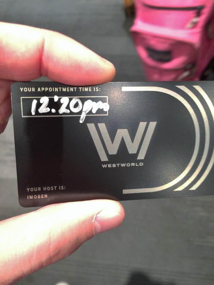 Westworld card
